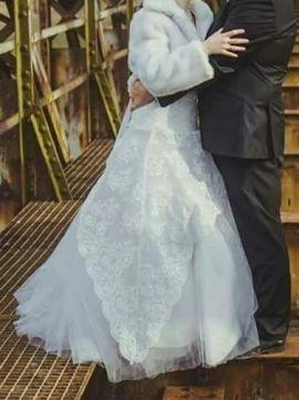 9fa10162cc Sprzedam suknie ślubną - 7453502987 - oficjalne archiwum allegro