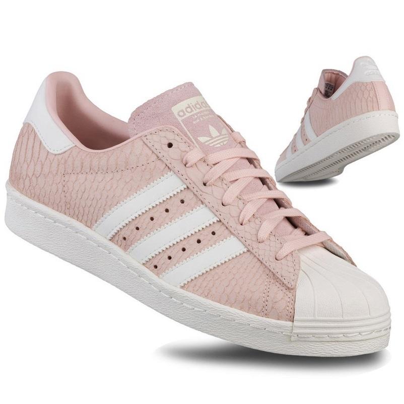 gorący produkt nowe przyloty najlepsza moda Buty Adidas Superstar S75059 Wężowe Pudrowy Roz 40 ...