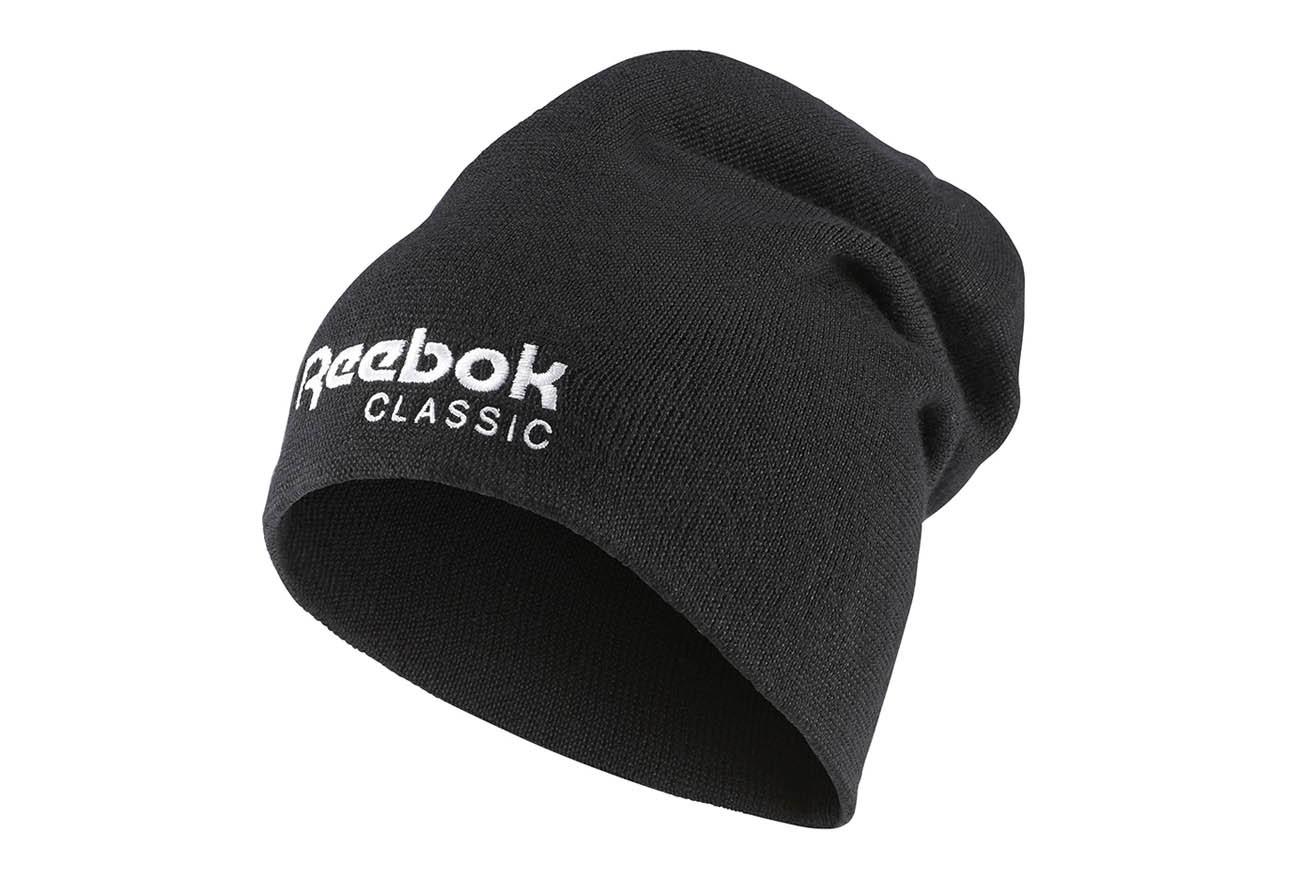 d99fc4e1b33 Czapka Reebok Classic CL FO BEANIE AX9977 OSFM - 7077836338 ...