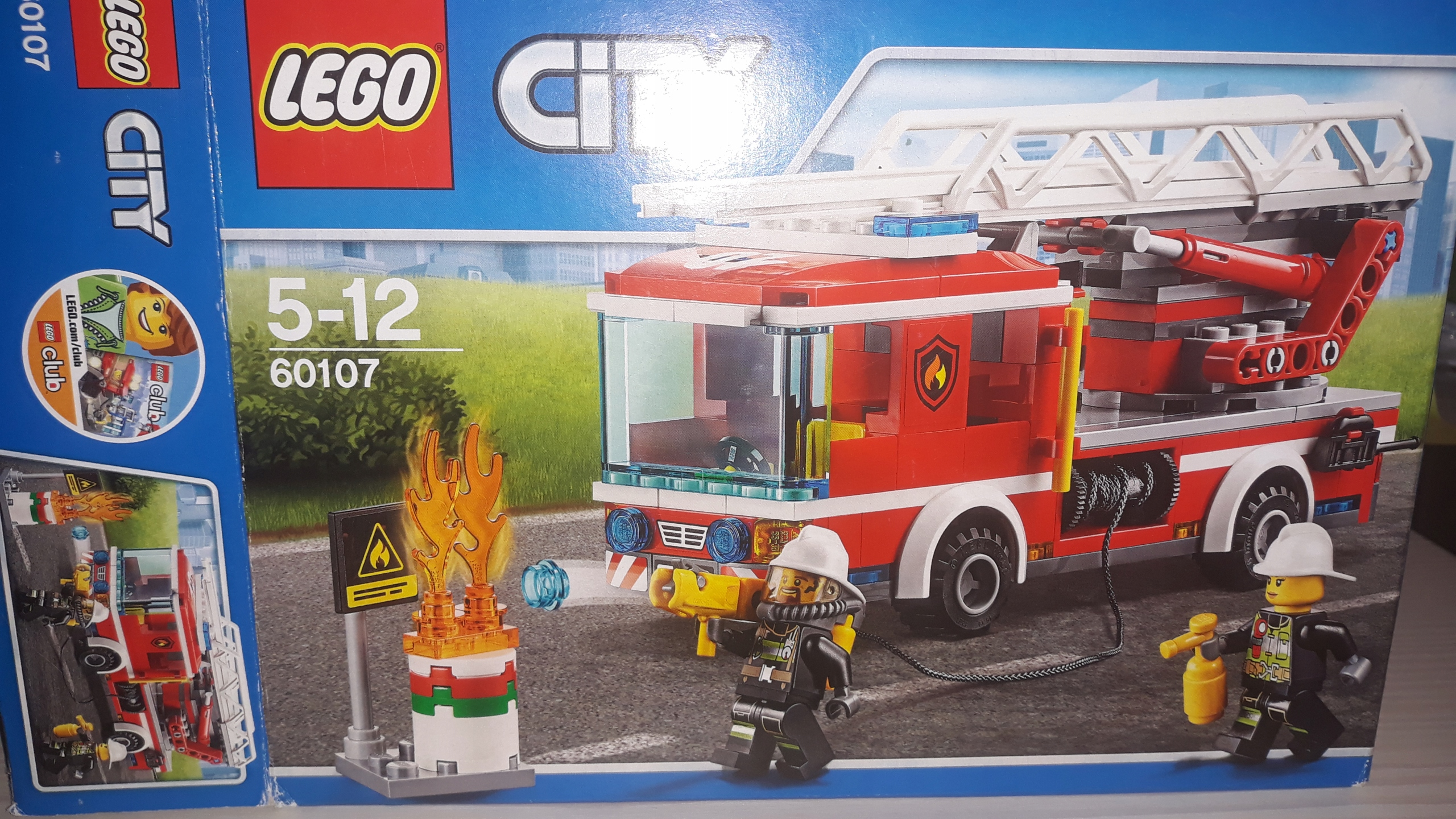 Lego City Straż Pożarna 5 12 Lat 60107 7683177264 Oficjalne