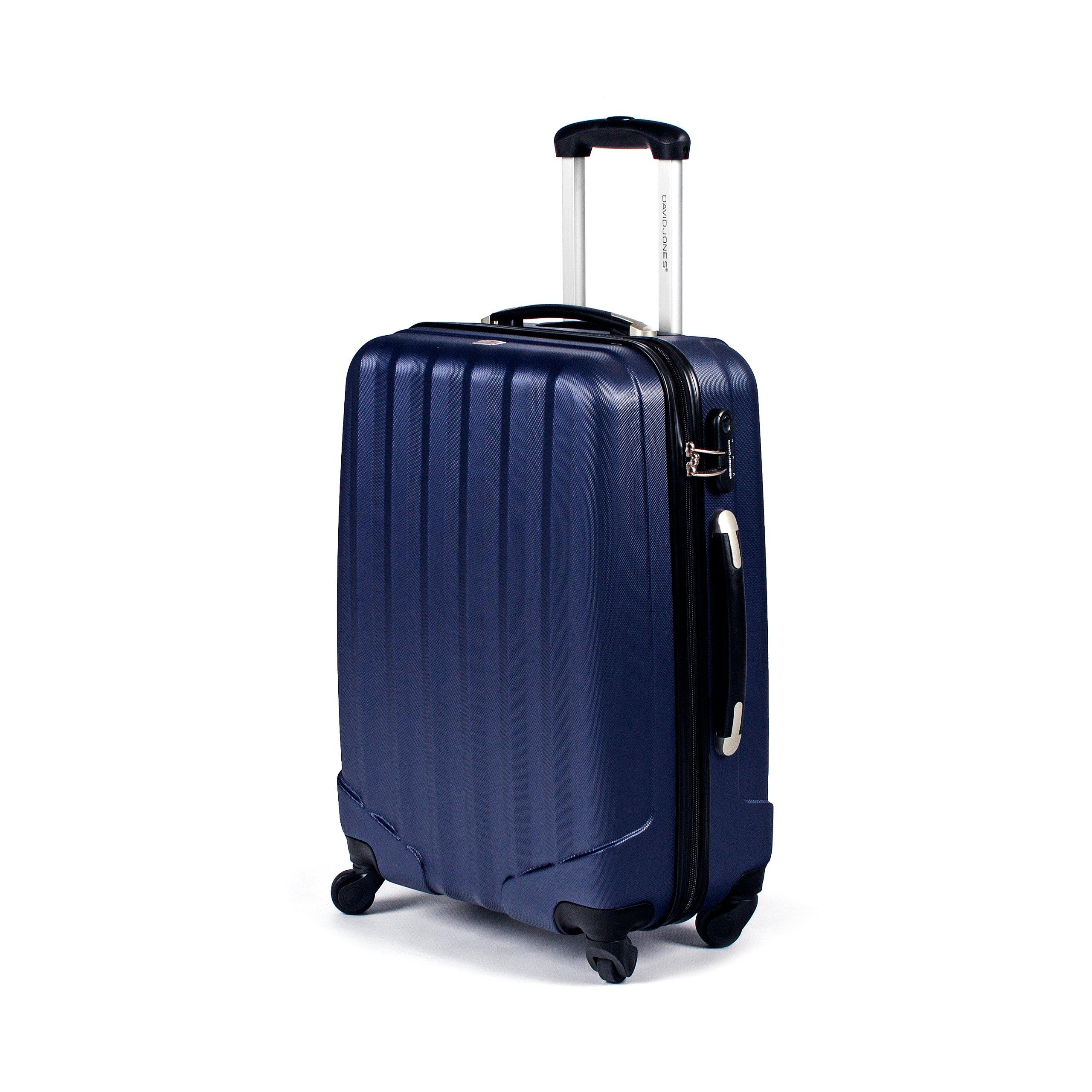 0f62a1e052935 ŚREDNIA walizka DAVID JONES 69L bagaż, kółka - 7090828886 ...