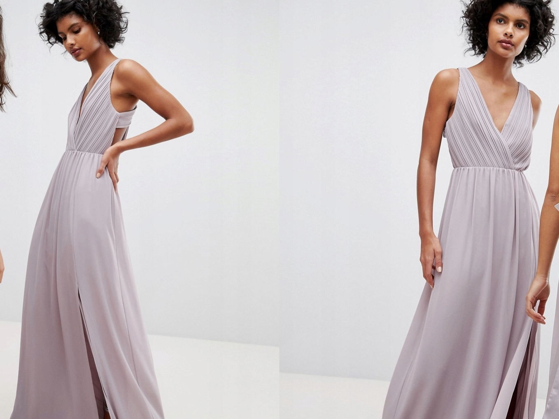 c720c027 TFNC Maxi Sukienka z rozcięciem L/40