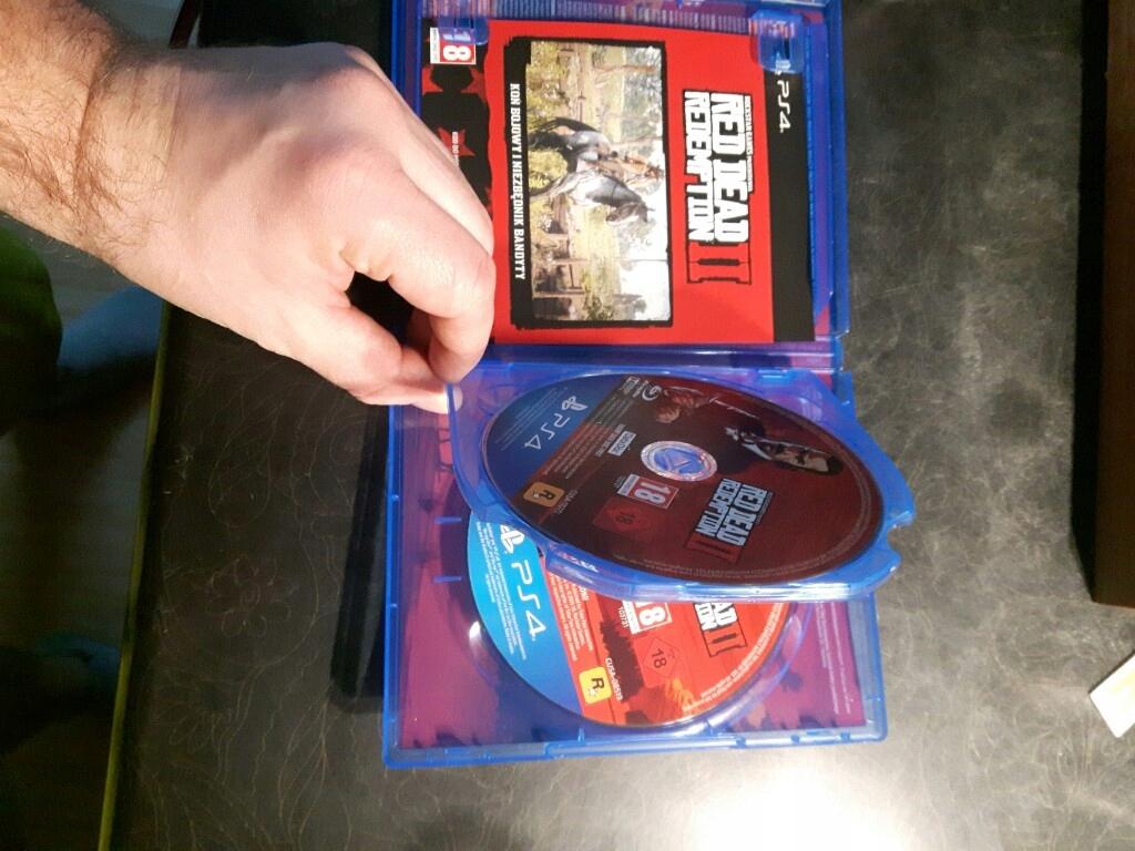 Red dead redemption 2 RDR2 PS4 DLC - 7680968204 - oficjalne