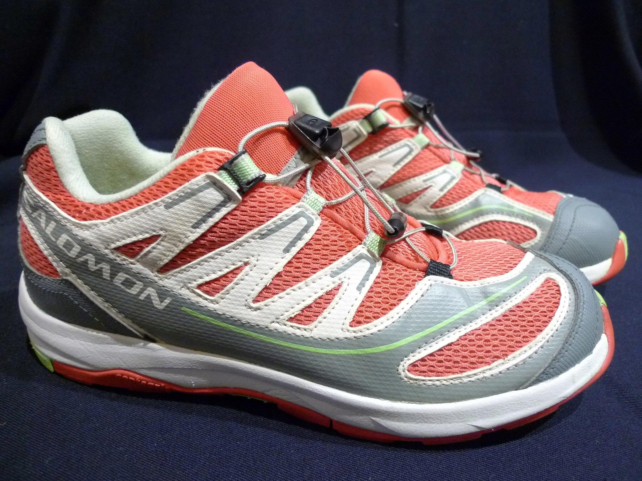 Buty sportowe SALOMON roz.38, wkł.24cm czerwone 7284136660