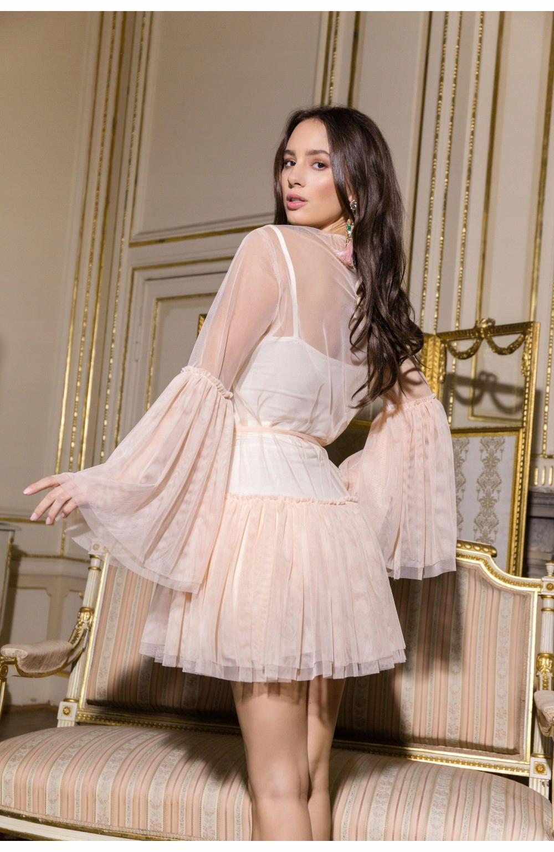 c21a0b87 Just Unique, KIMBERLY, sukienka, pudrowy róż, M/L - 7574041985 ...