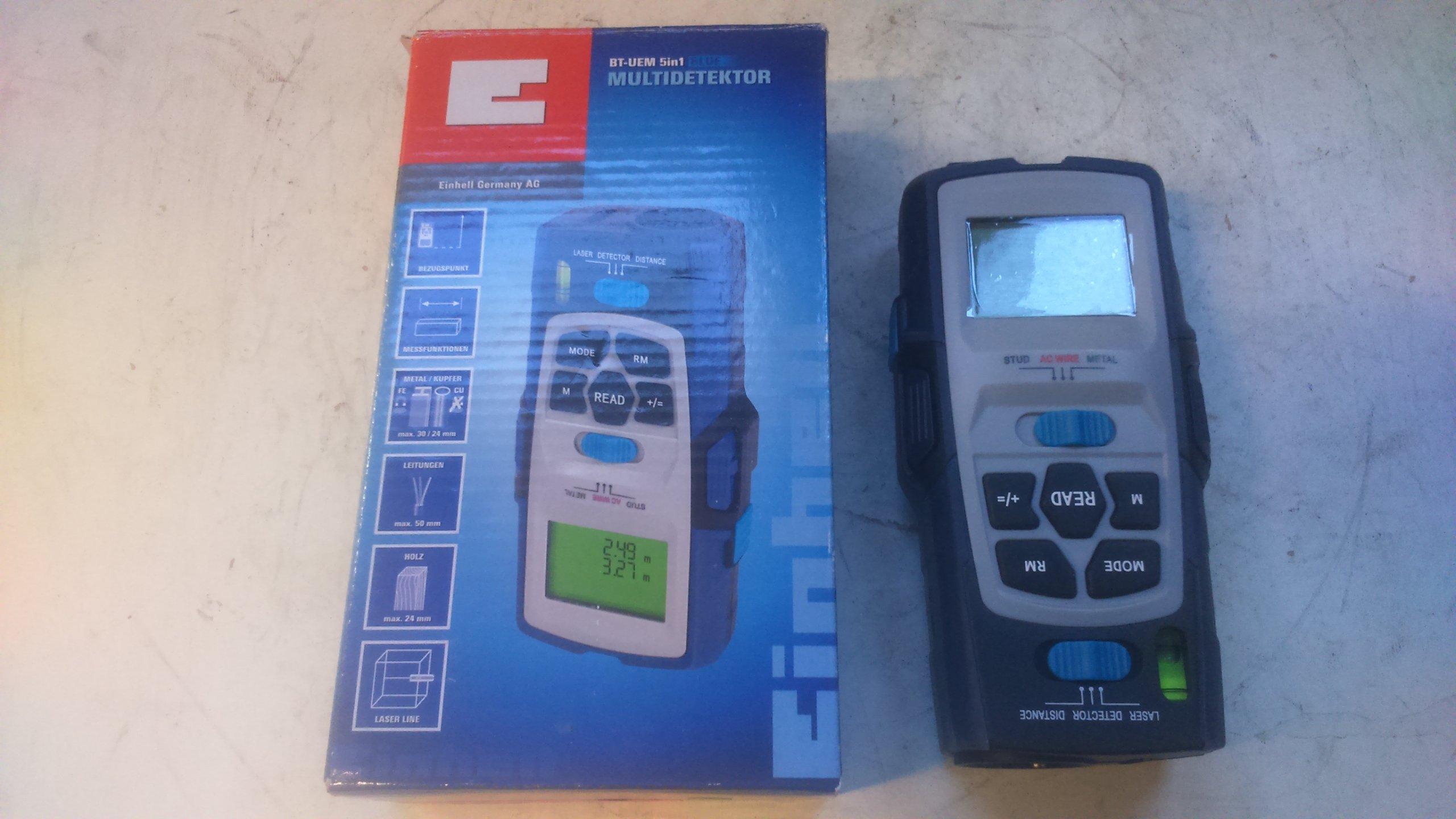 multidetektor, dalmierz einhell bt uem 5in1 - 7458217746 - oficjalne