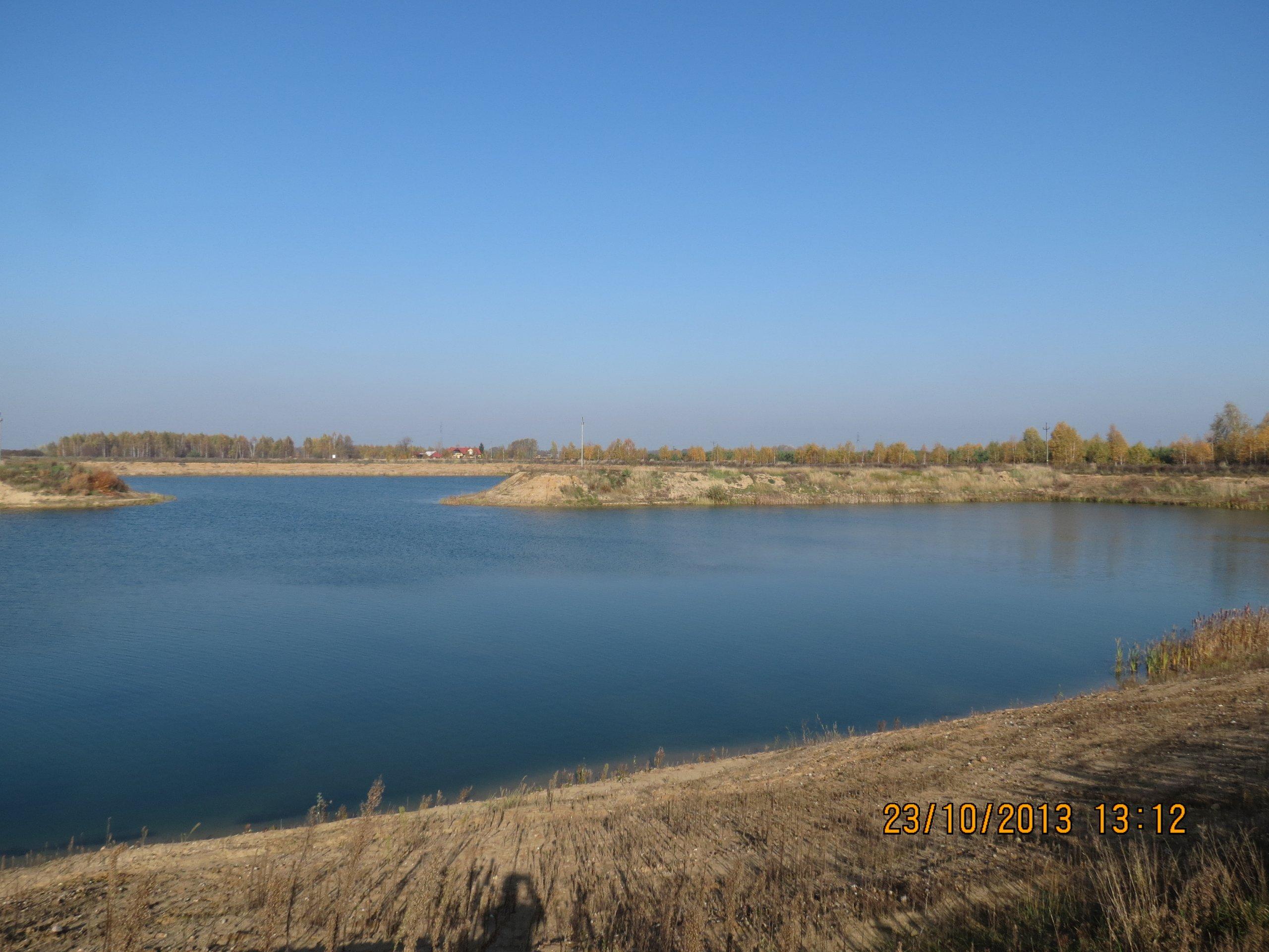 Jezioro 12 ha w miejscowości Michalinek k. Płońska