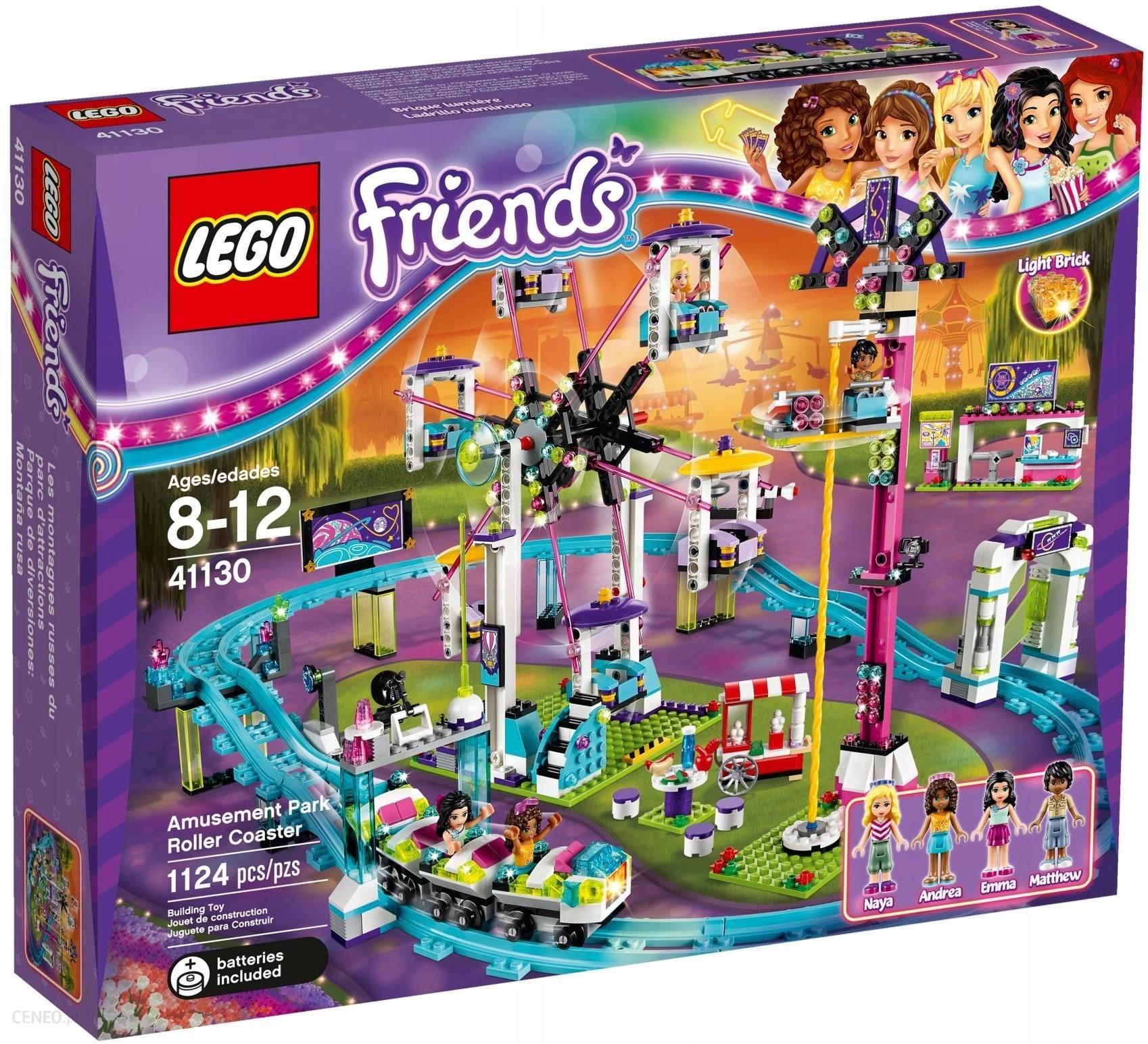 Lego Friends 41130 Kolejka Górska W Parku Rozrywki 7639097081