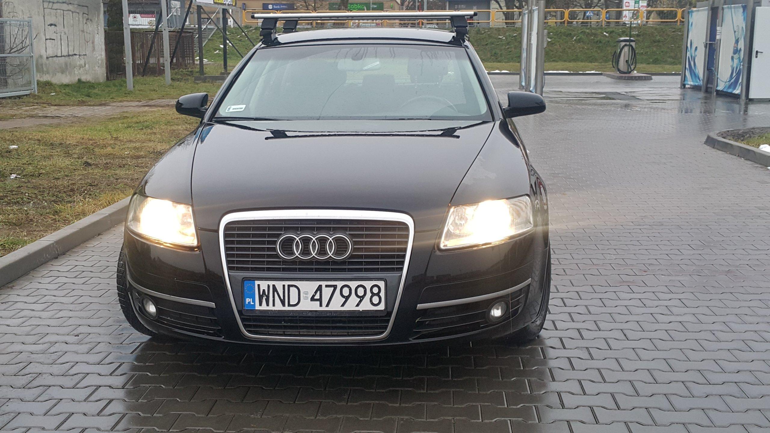 Audi A6 sedan 2.0 tdi -  zadbany i bezwypadkowy!