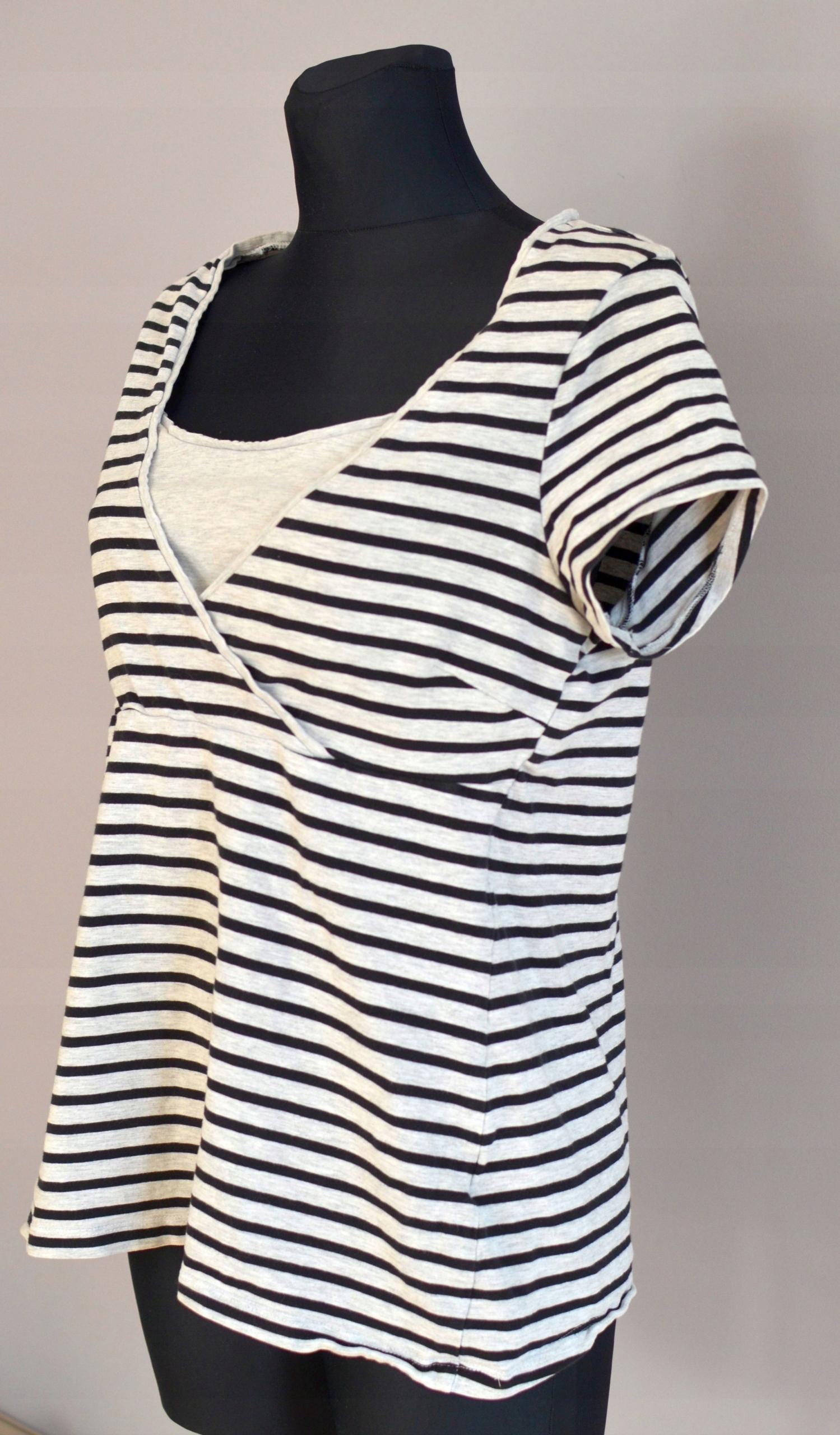 d1ad0f3eeee934 H&M mama tshirt bluzka ciążowa i do karmienia - 7441023307 ...