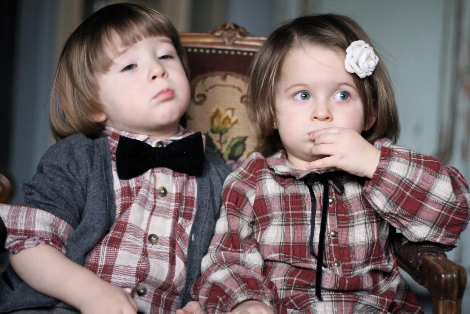 SOURIS NOUS lux kids 5-6 116 modna krata na lato