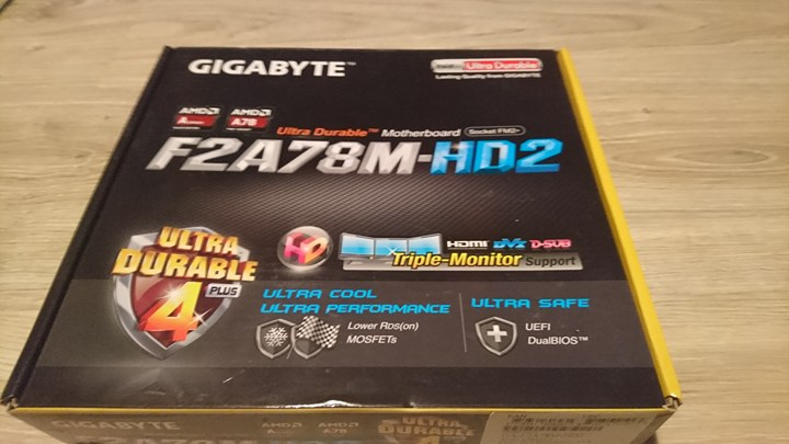 Gigabyte F2A78M-HD2 - 7237243691 - oficjalne archiwum allegro