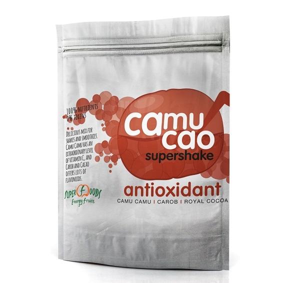 ENERGY FRUITS Camu Cao Superhake Karob Kakao BIO