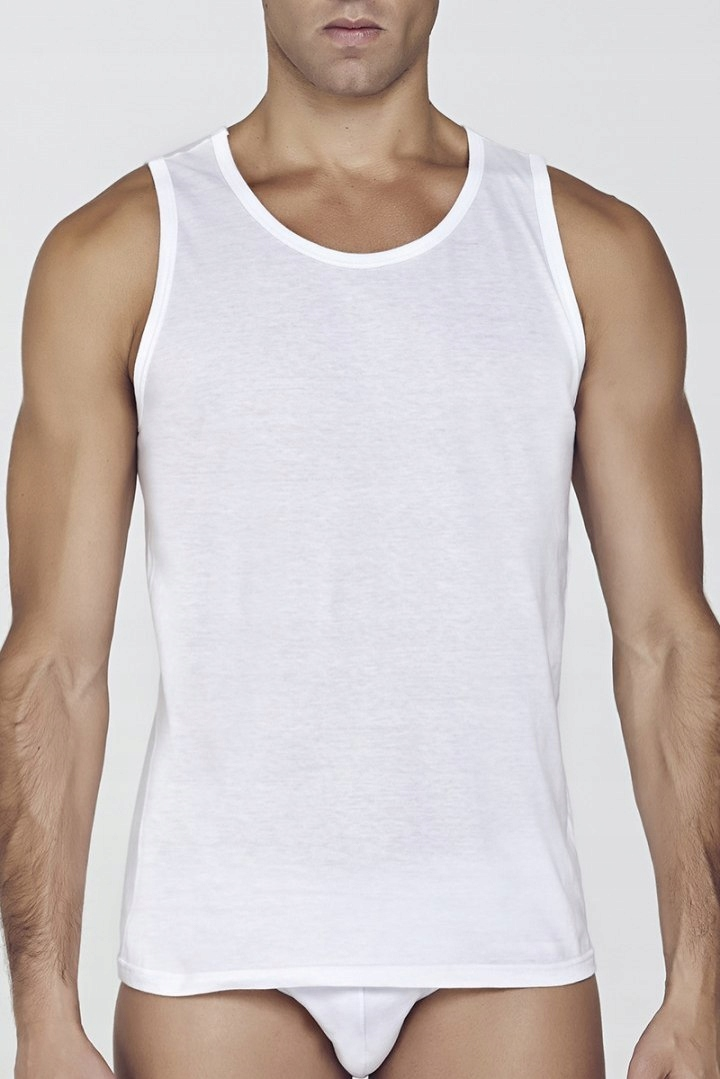 Koszulka Męska Model Malaga White