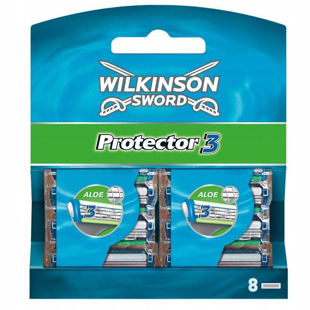 Wilkinson Sword Protector 3 wkłady do maszynki 8 s