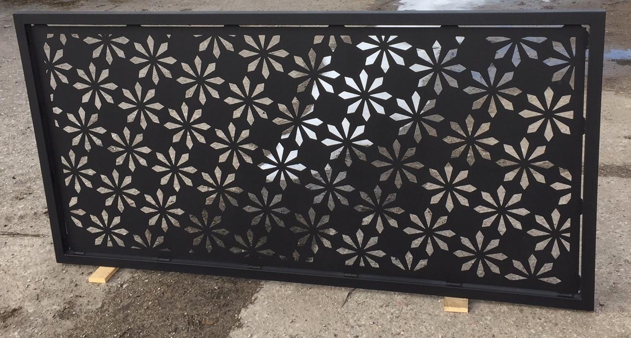 Panel Ogrodzenia Przęsło Dekoracyjny Ażurowy 7482819319