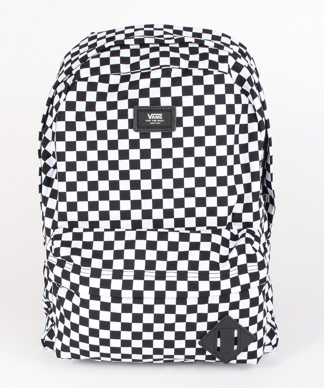 klasyczne dopasowanie San Francisco bardzo popularny Plecak Vans OLD SKOOL II Black/White VN000ONIHU01 ...