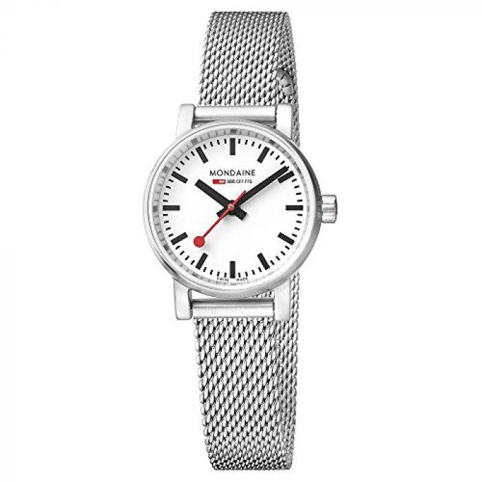 Mondaine Women's  evo2 petite 26mm sapphire  Watch