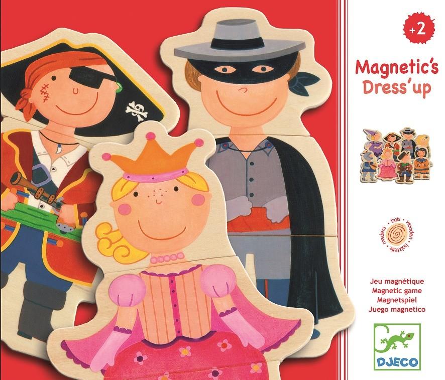Puzzles & Geduldspiele Puzzle magnetyczne Przebieranki