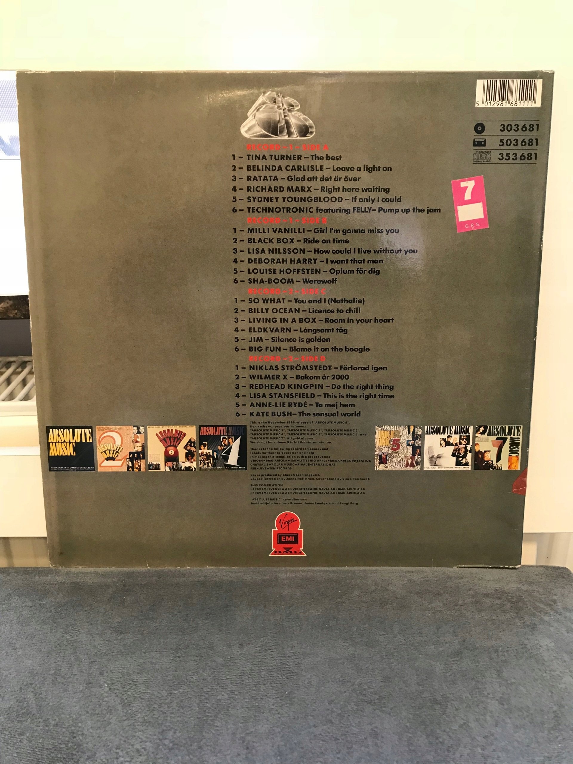 Absolute Music - 8  Winyl Stan Idealny