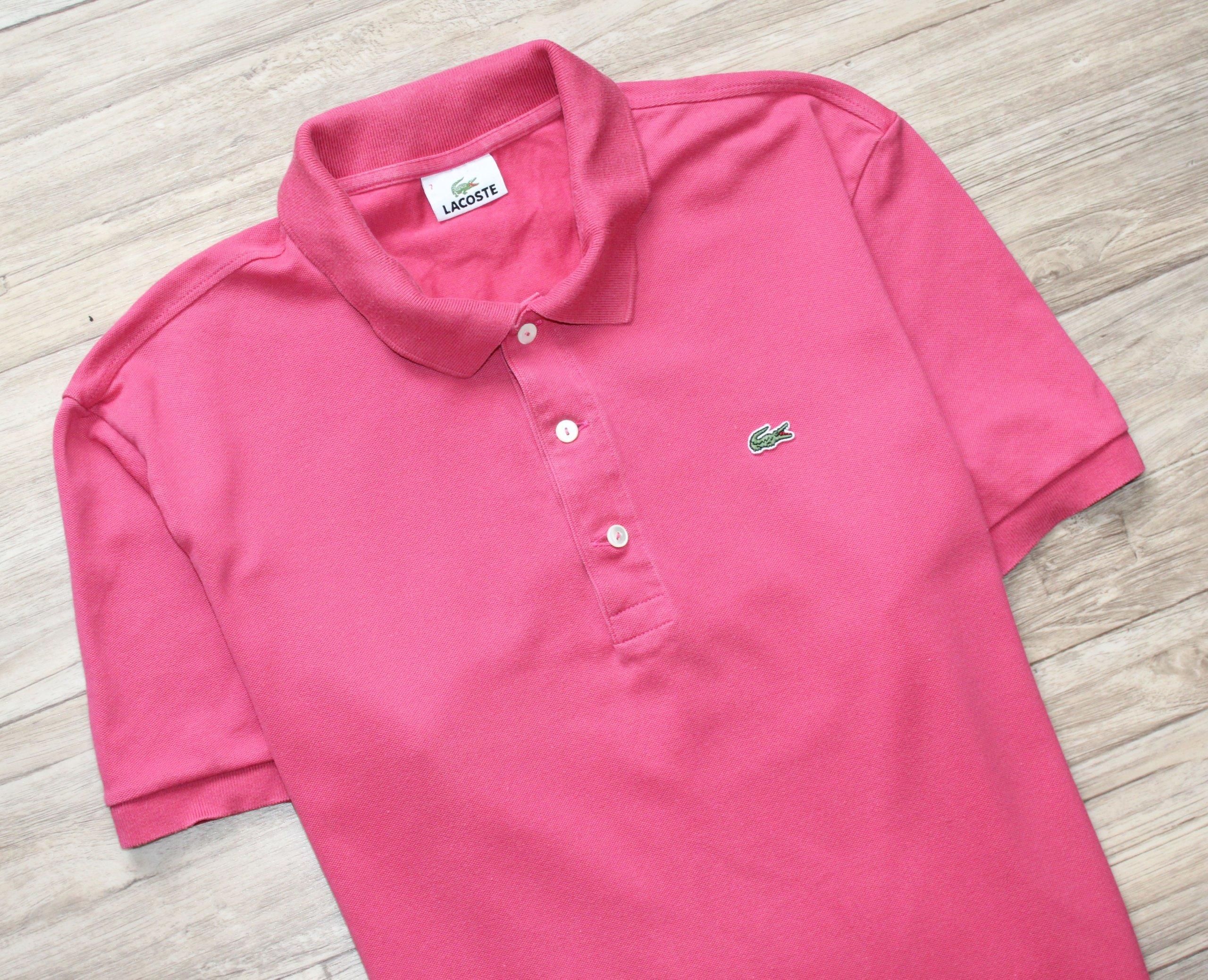 0aa7128a7 Bluzka t-shirt polo LACOSTE bdb L XL 7 - 7221284611 - oficjalne ...