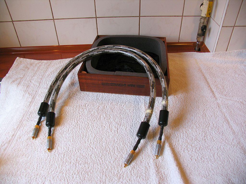 Straight Wire CRESCENDO / RCA 2 x 1m  '' Hi End ''