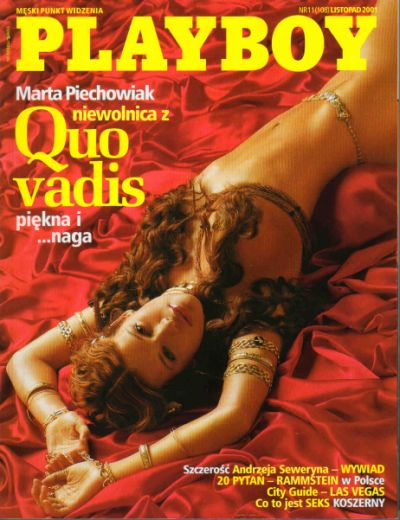PLAYBOY- nr.11(108) 2001- Marta PIECHOWIAK