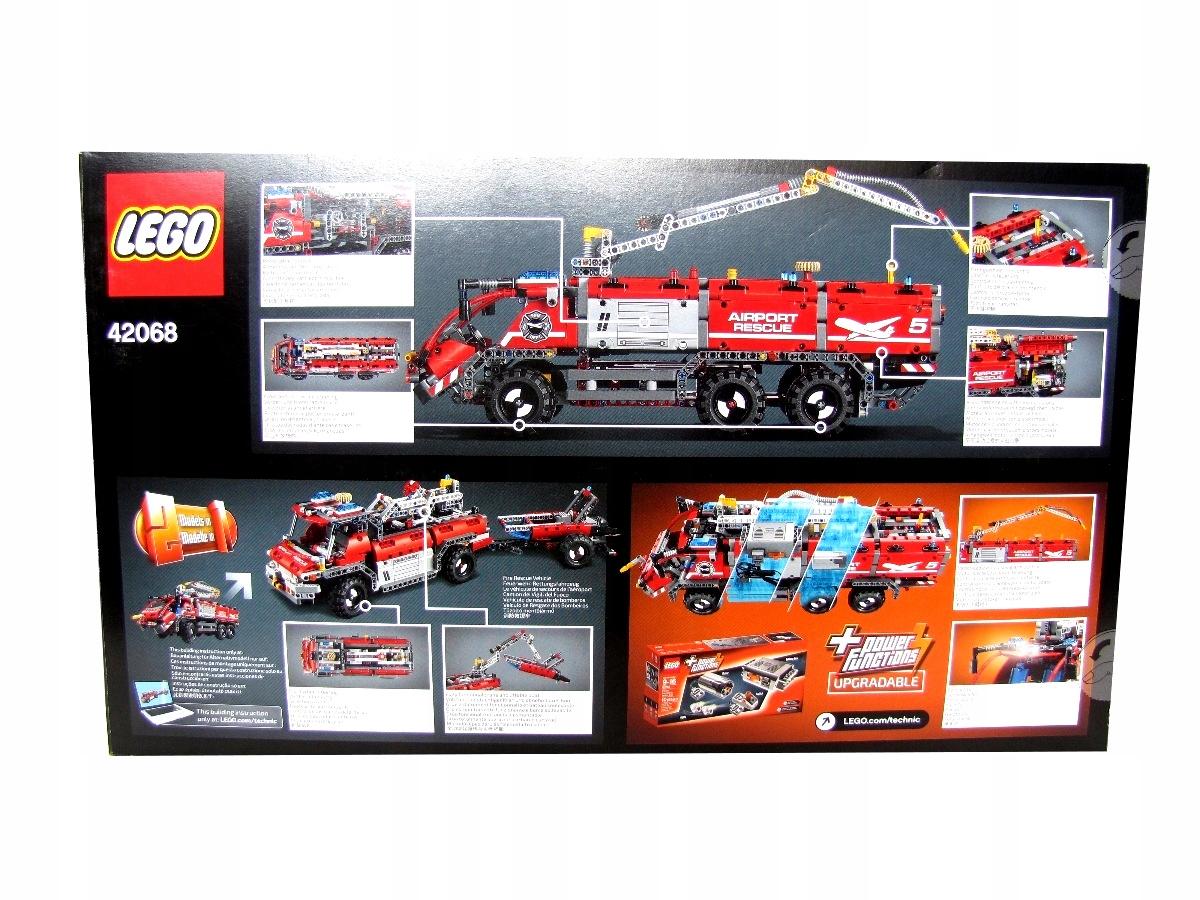 Klocki Lego Technic Straż Pożarna Wóz Strażacki Rb 7480396457