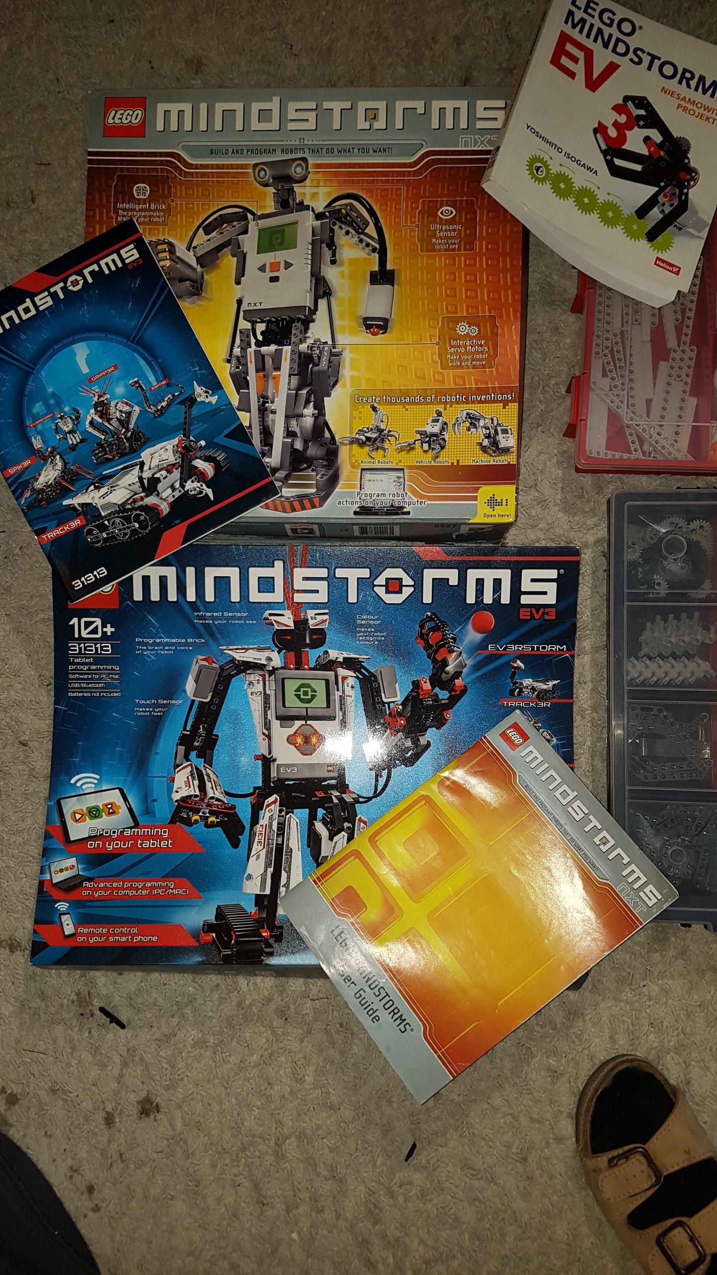 Lego Mindstorms 7098290336 Oficjalne Archiwum Allegro