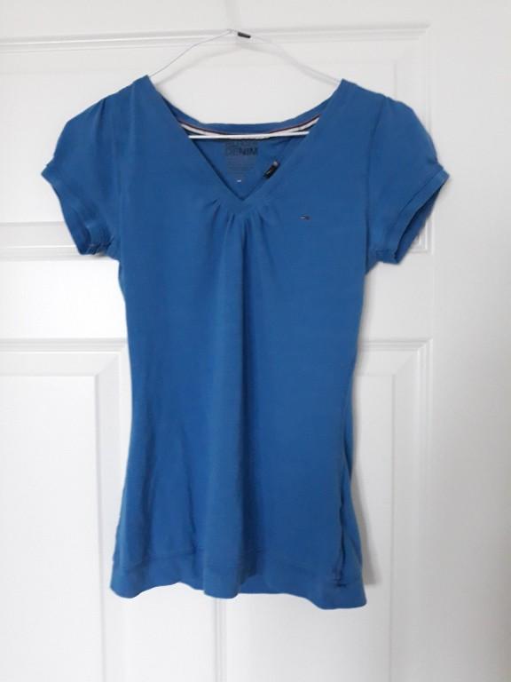 Niebieska bluzka Tommy