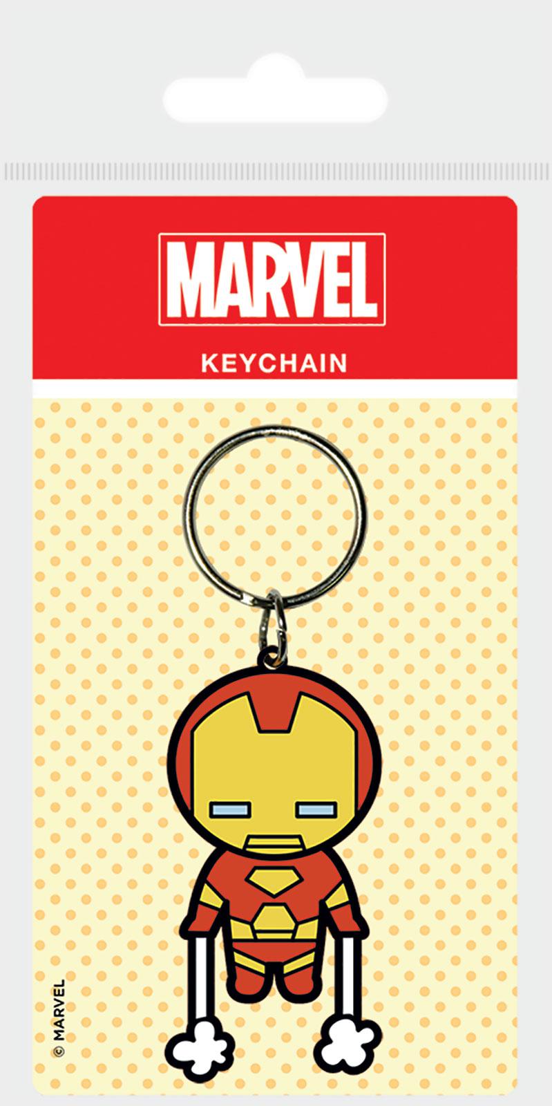 Marvel Kawaii Iron Man - brelok na klucze 4,5x6 cm