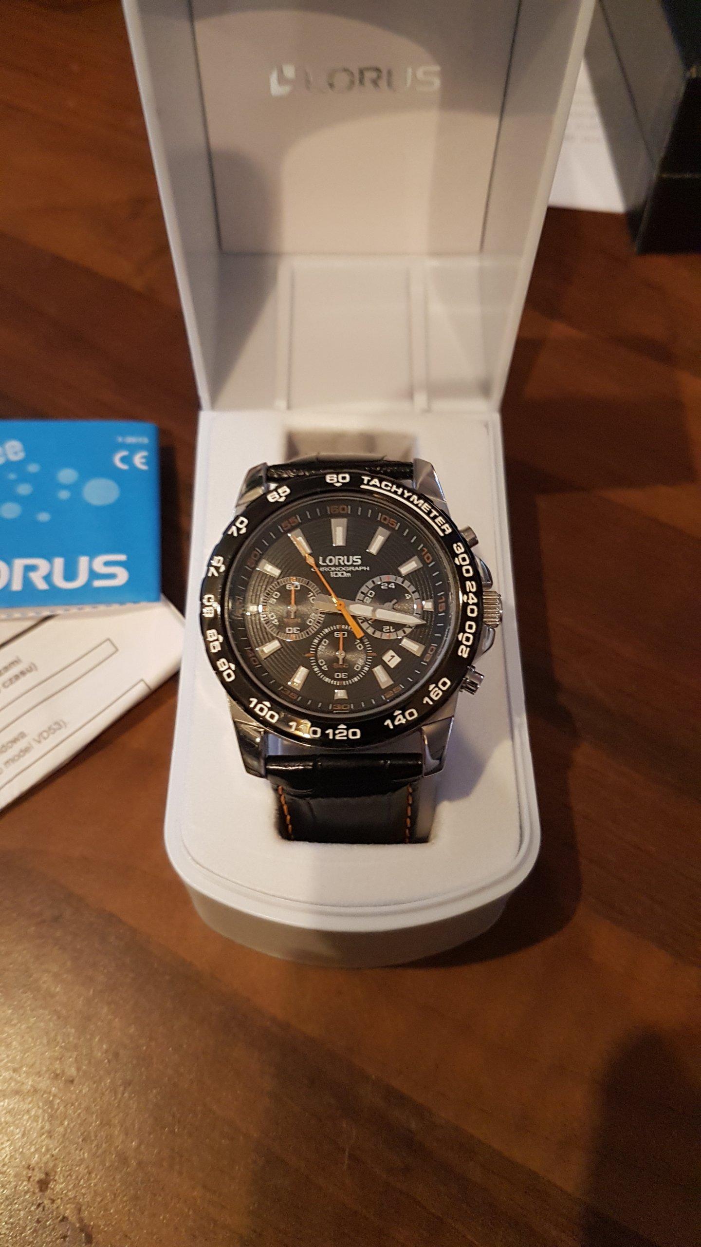 Lorus RT315BX9