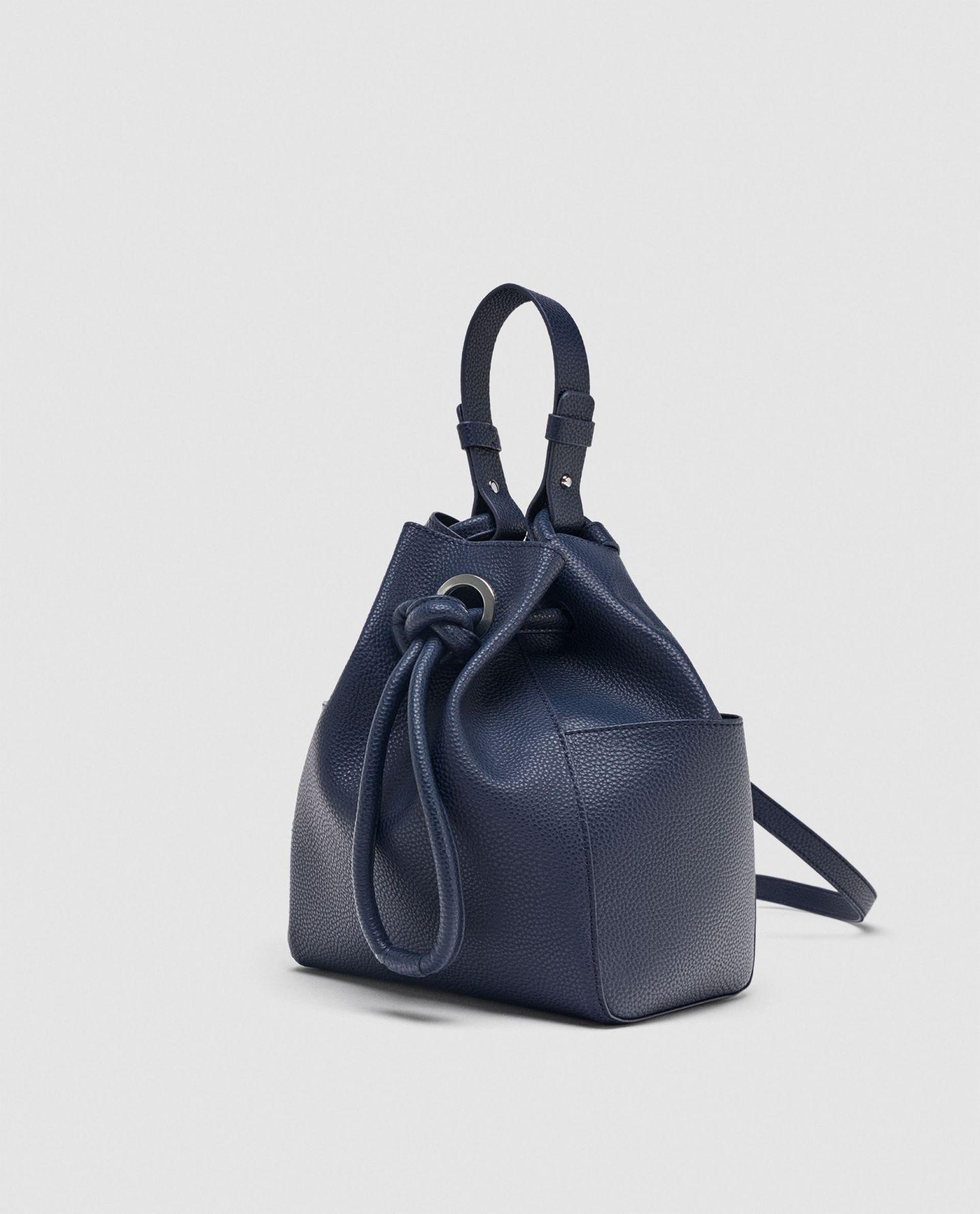 5b35a0097e7dd Zara nowy worek torba z wiązaniem - 7578241681 - oficjalne archiwum ...