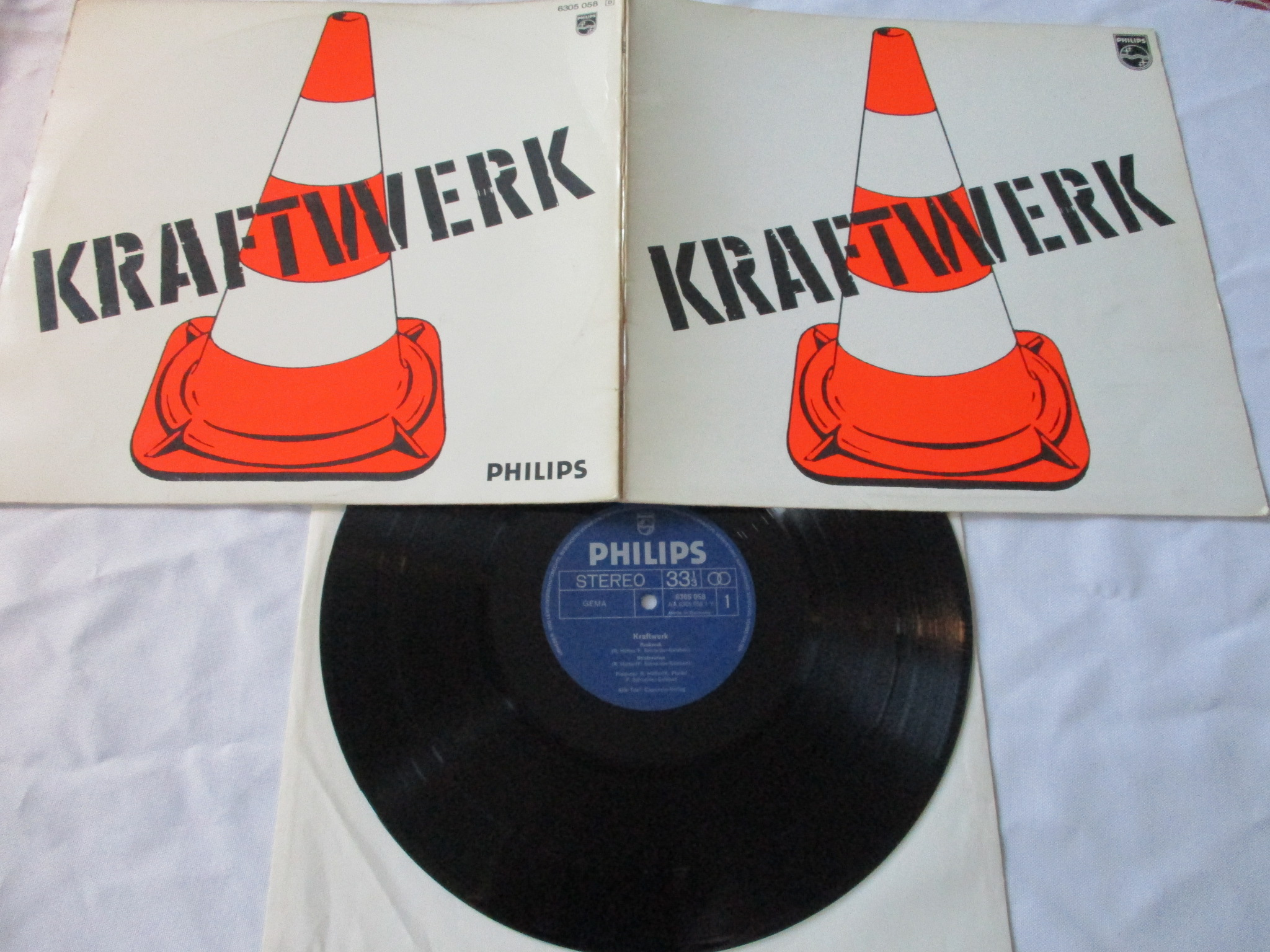Kraftwerk  -KRAUTROCK-1st press #1680
