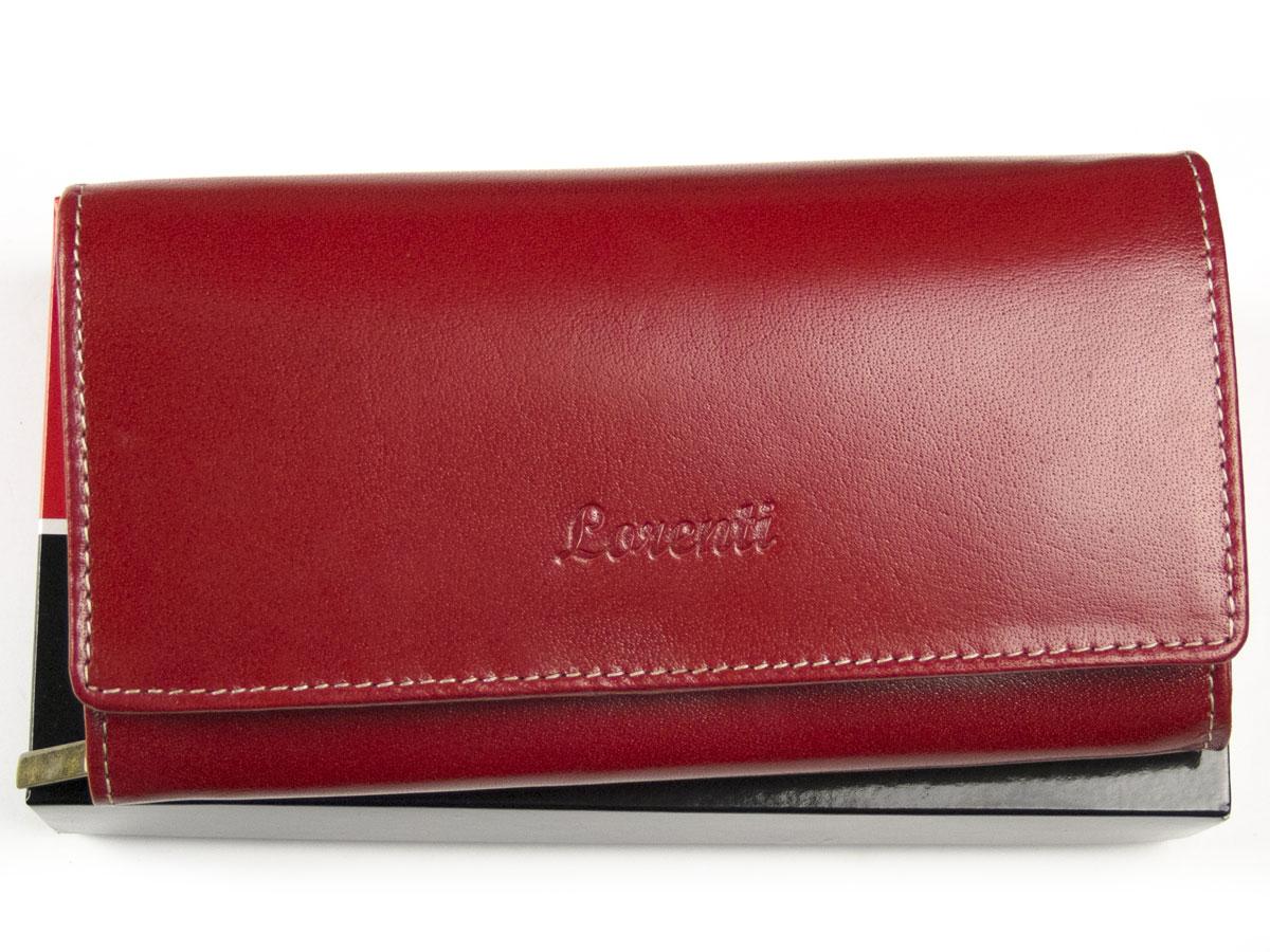 cae66804794d2 Duży portfel damski skórzany Lorenti czerwony - 7090970323 ...