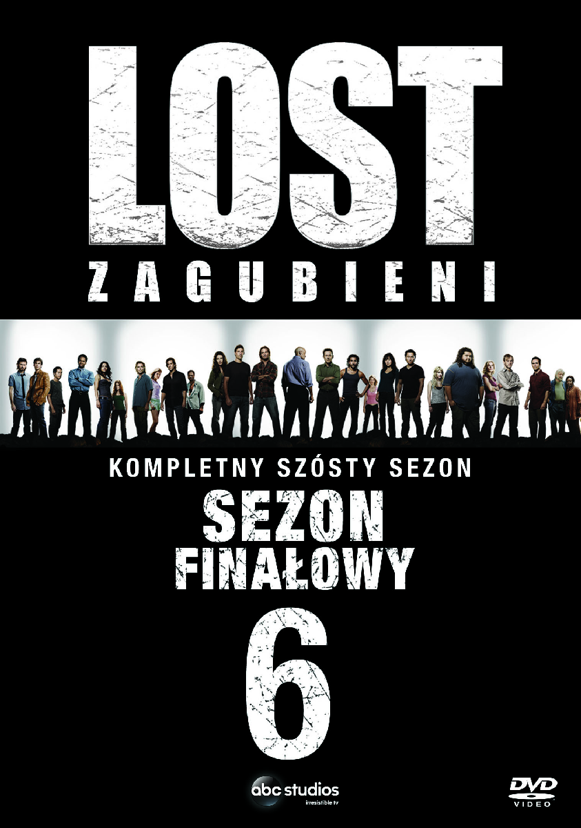 Lost Zagubieni Sezon 6 DVD