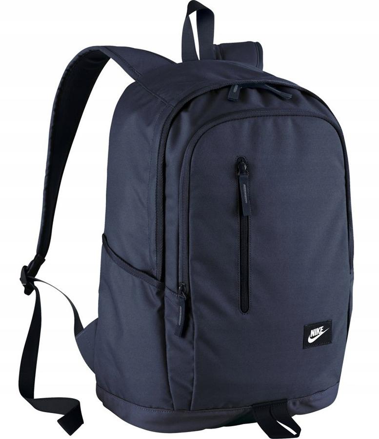 123af0a409951 Plecak NIKE szkolny SPORTOWY do szkoły GRANATOWY - 6776529599 ...