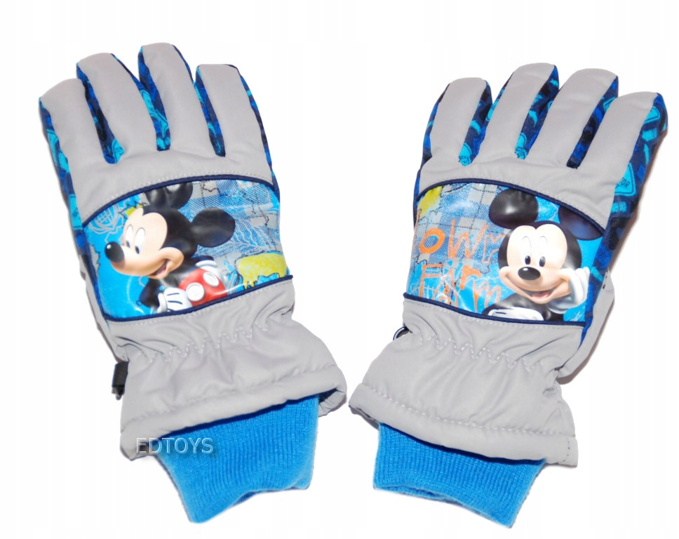 Rękawiczki zimowe narciarskie Disney 7-8l MIKI 27