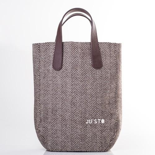 cb81cfae5d3b3 Justo J-1 torebka shopper bag spigata jodełka - 7212516413 ...