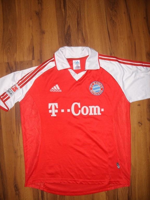 24b6b8a3d koszulka ADIDAS FC BAYERN 13 BALLACK STARA - 7540158915 - oficjalne ...