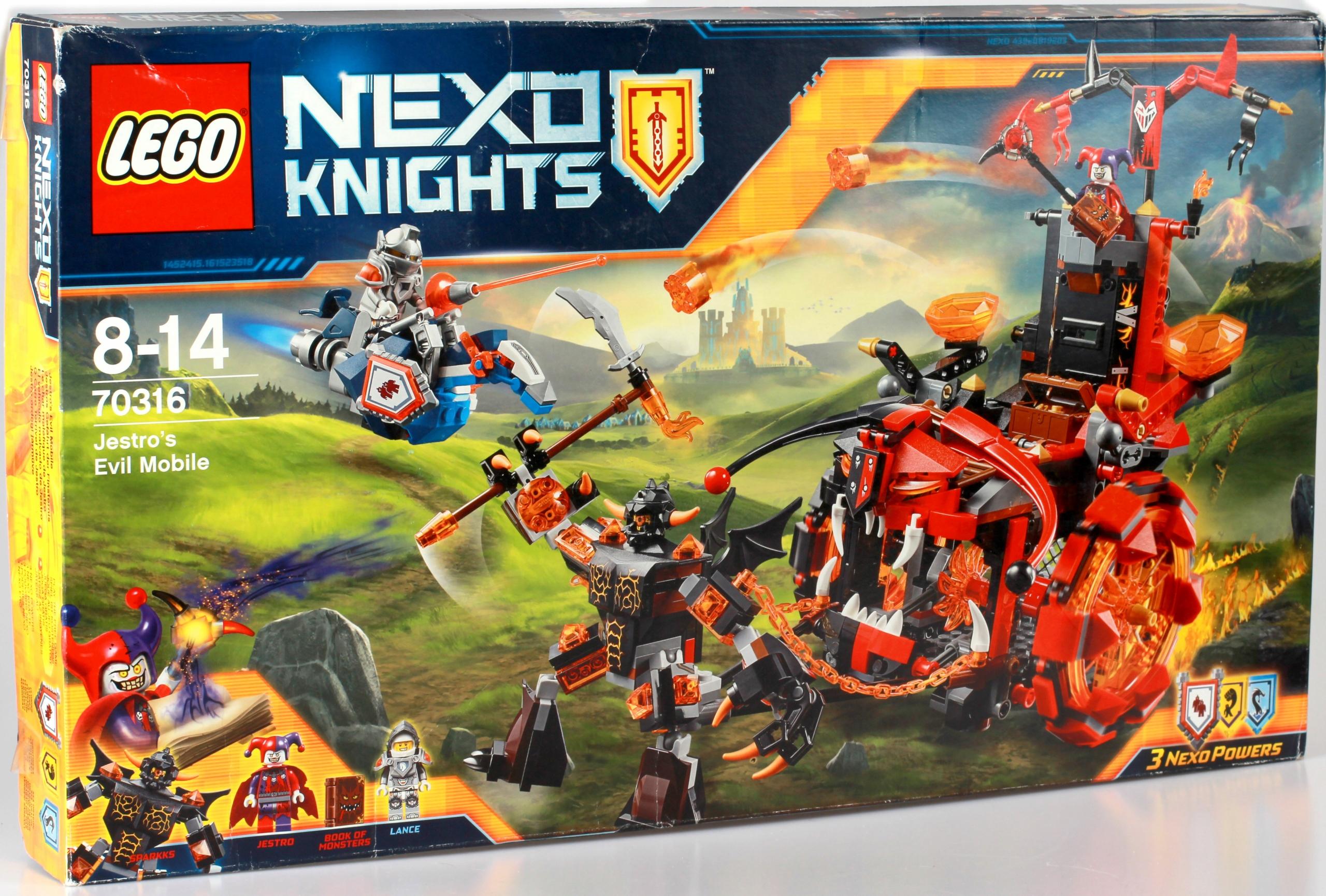 Lego 70316 Nexo Knights Pojazd Zła Jestro Promocja 7668750971