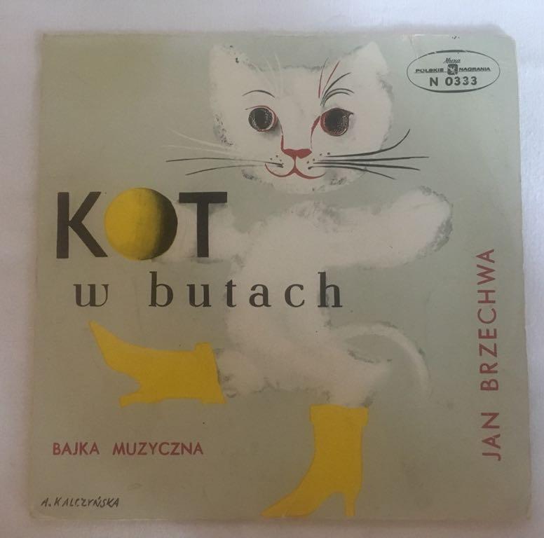 Kot W Butach Bajka Płyta Winylowa Lata 70 7397316876