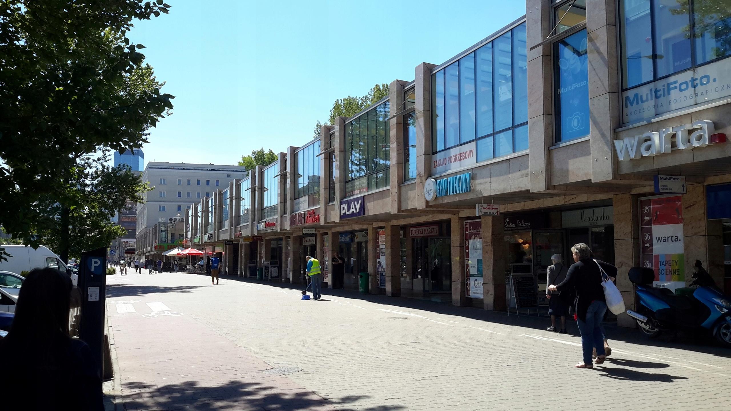 Centrum Handlowe Pasaż Muranów lokal 31m2