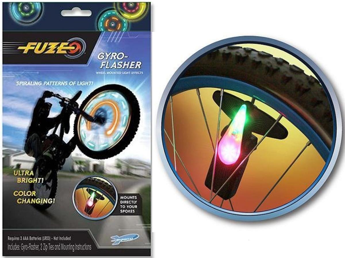 Fuze Gyro Flasher światła Rowerowe Szprychy Led 6878875680