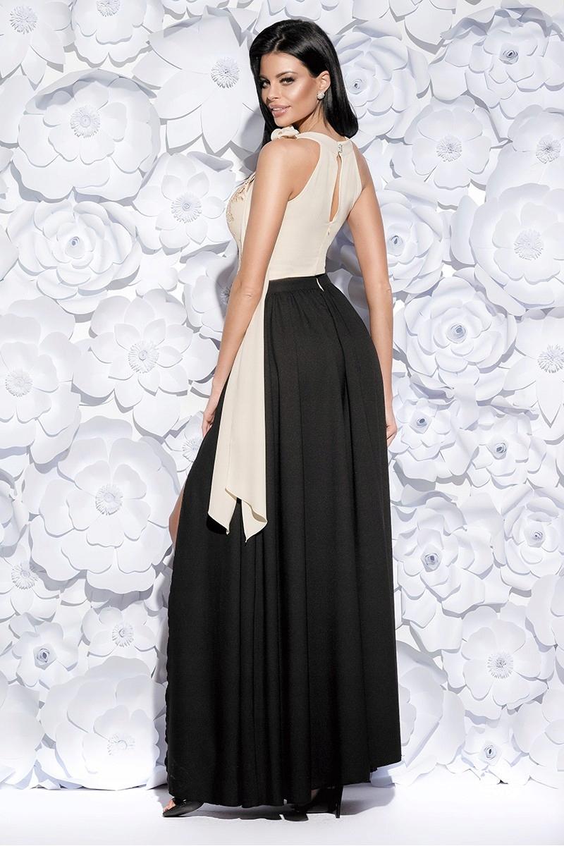 d6649913b8 Długa suknia balowa MAXI na wesele studniówka R. L - 7589986000 ...
