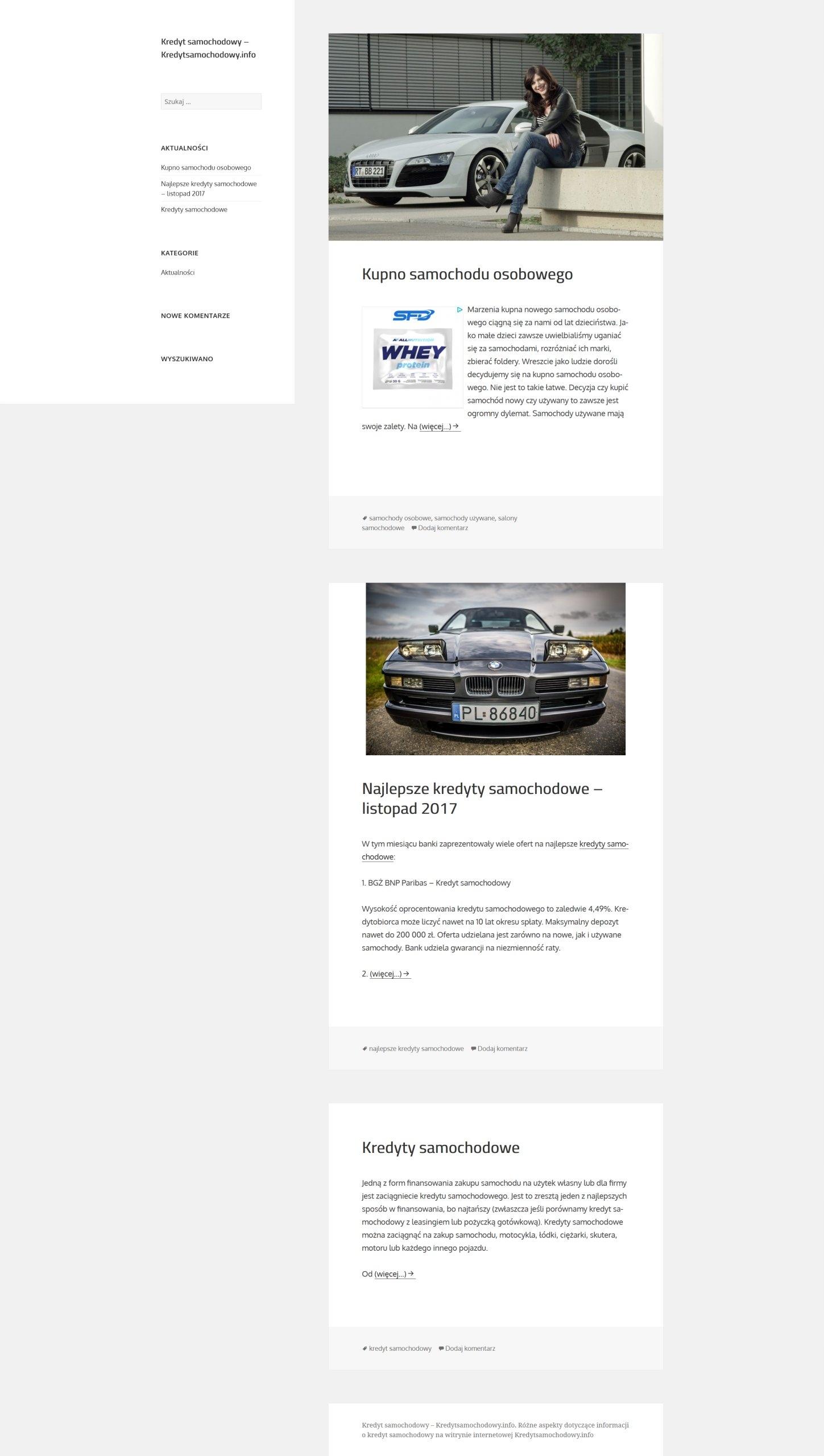 kredytsamochodowy.info + zaplecze
