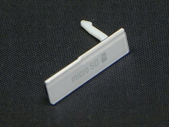 NOWA Zaślepka XPERIA Z C6603 MICRO SD BIAŁY