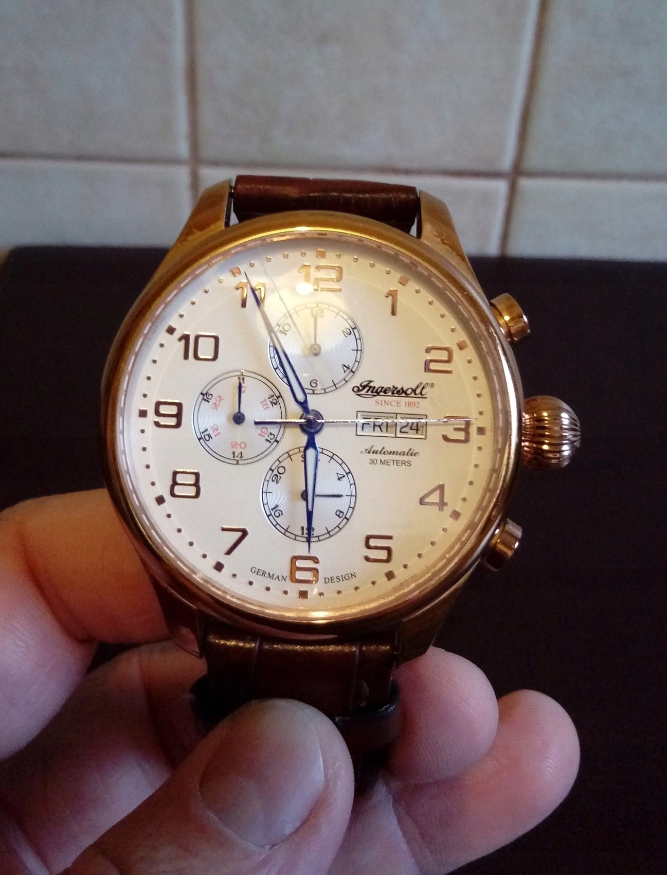 Zegarek Ingersoll Apache Automatic Limited Edition - 7538557484 ... 54319794be2