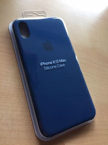 newest d8f1d 68efa Silikonowy case iPhone XS Max Blue Horizon nowy - 7671177030 ...