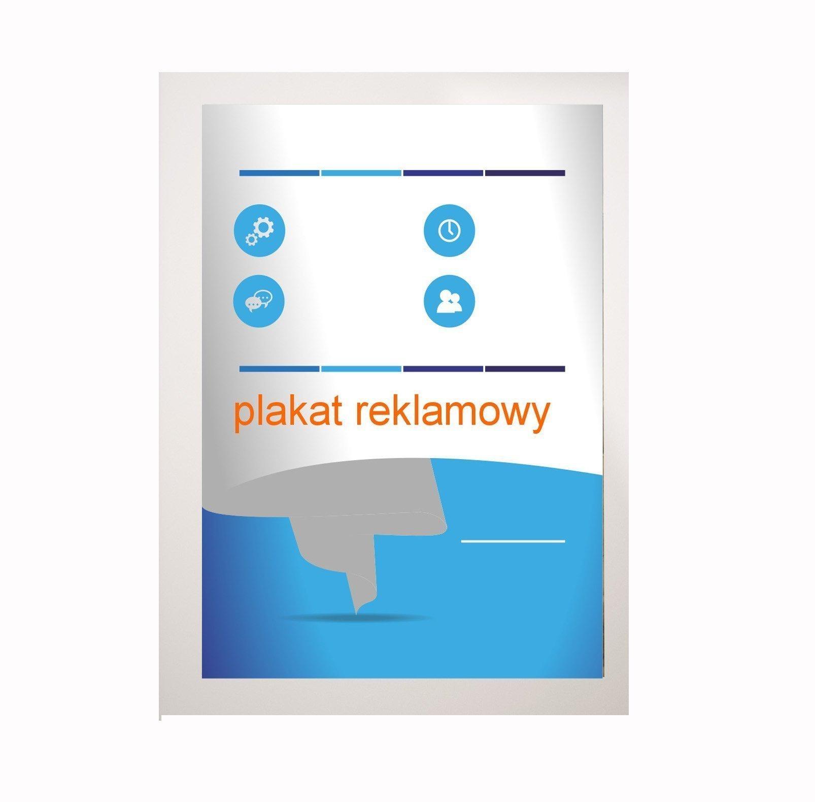 Plakat B0 1414x1000mm, 200g Druk Lateksowy 10szt.